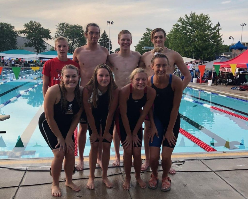 Fremont Area Swim Team Results From Long Course Championship