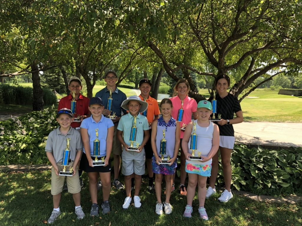 High Temps and Low Scores at 26th Annual Junior Golf Tournament