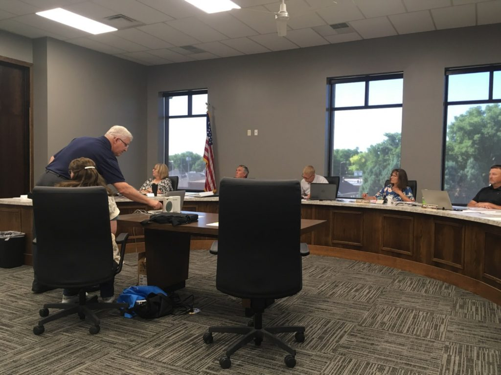 Board of Supervisors Discuss Drones, Tractors, Wind Farms