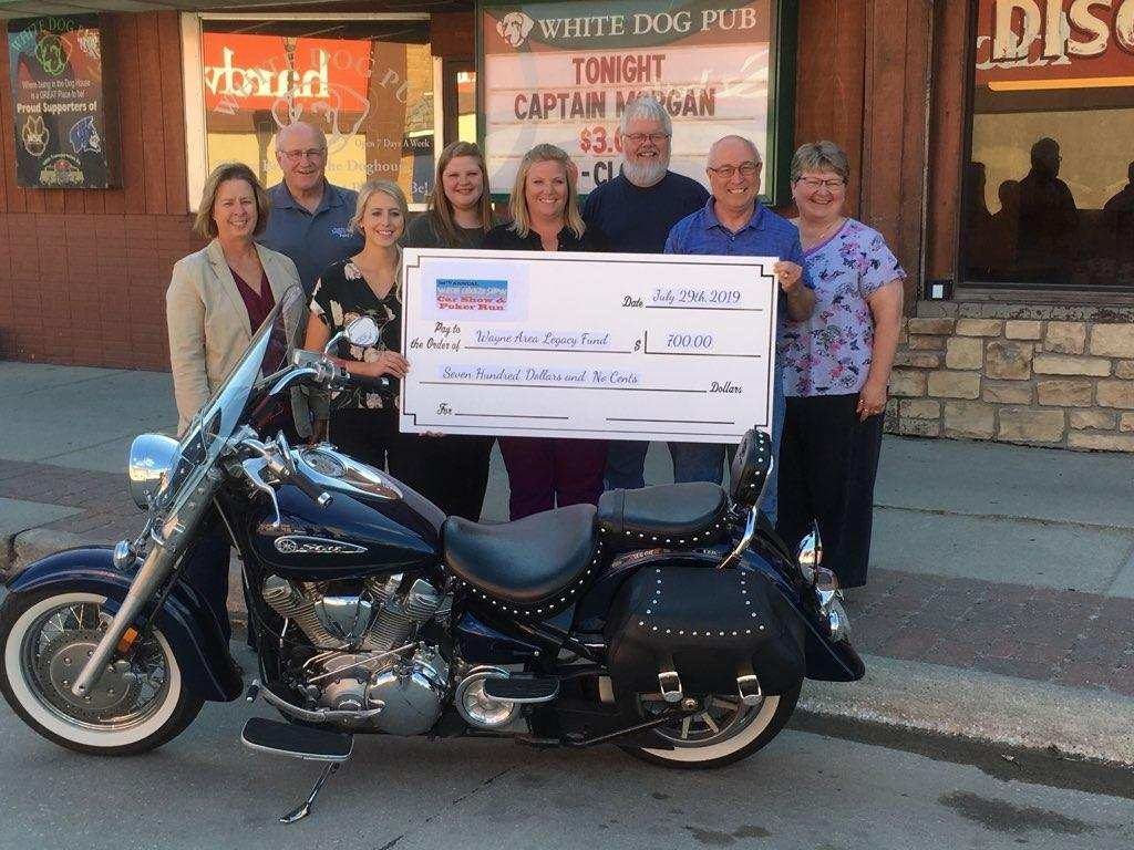 Chicken Show Poker Run Contributes To Wayne Area Legacy Fund