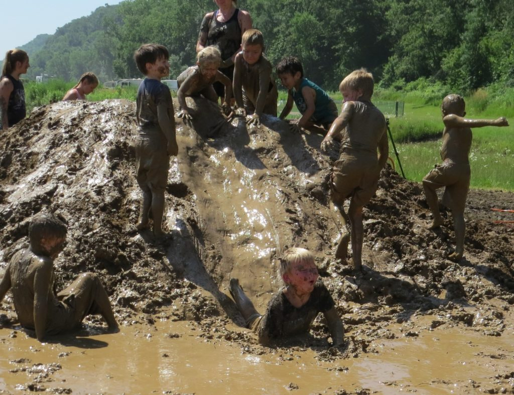Inaugural Mud Day Well Attended At Ponca State Park, International Mud Day Began In 2009