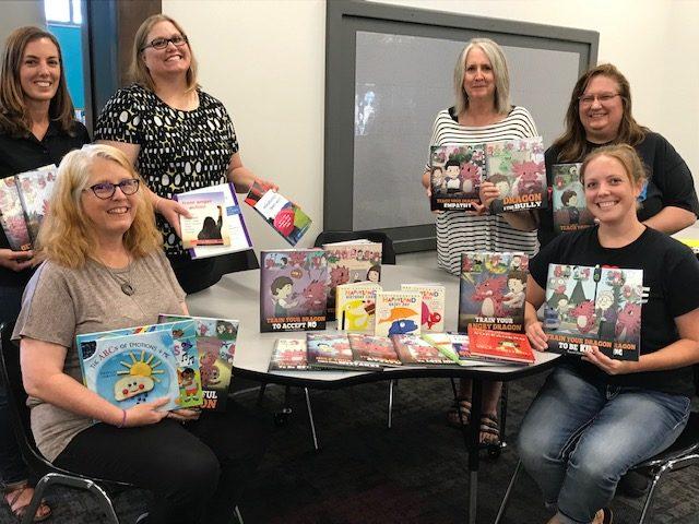 Sixpence Program Donates to BB Library