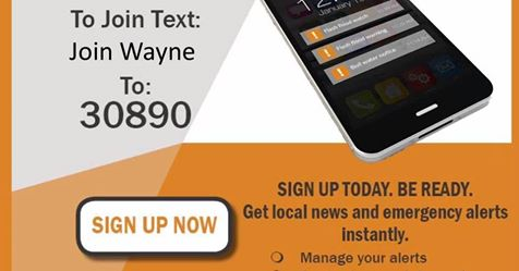 Get Local Weather Alerts In Wayne County Linked To Your Phone And
