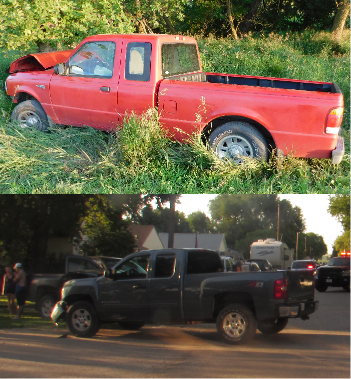 Injuries Reported At Two Different Accidents That Took Place Within 30 Minutes Of Each Other