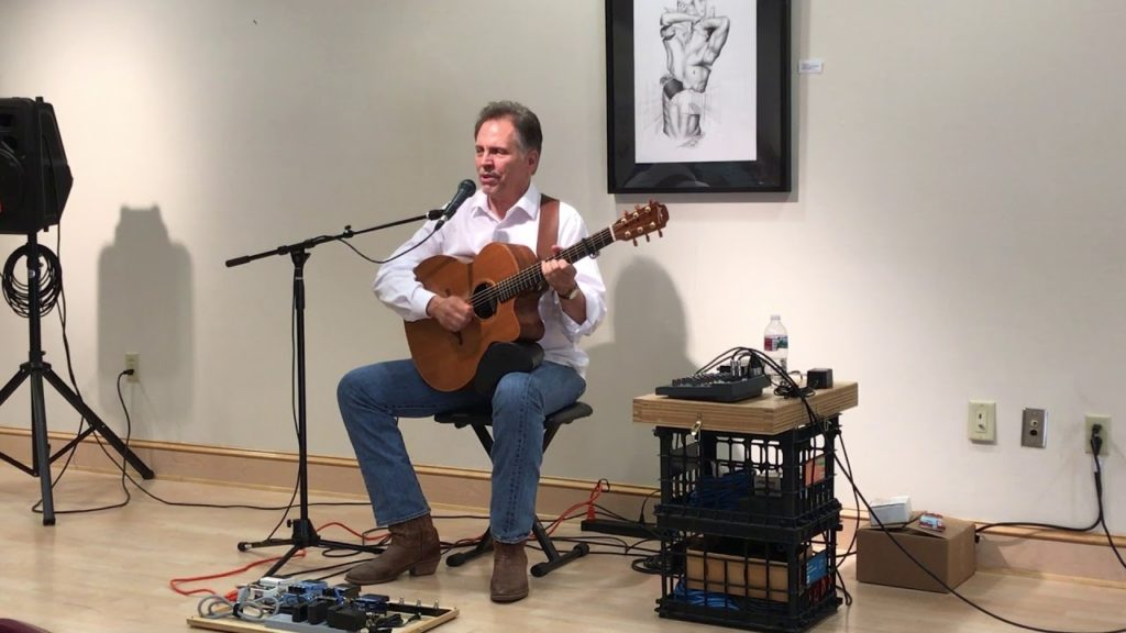 Celtic Guitarist Jerry Barlow Featured at Keene Memorial Library During JCF Days