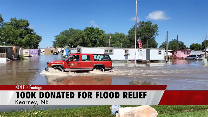 Donation helps with Kearney disaster relief
