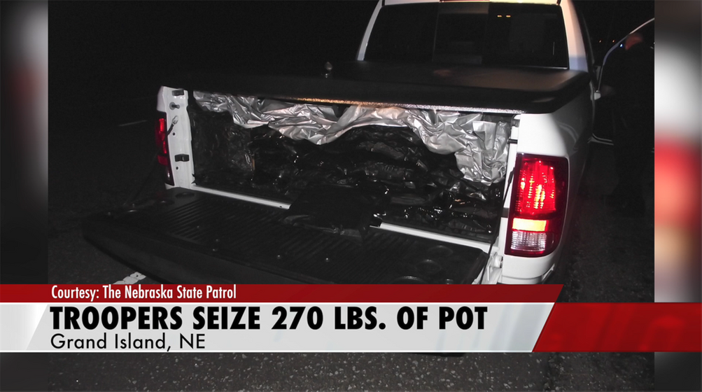 Troopers Find 270 LBs of Marijuana, THC Cartridges in Traffic Stop