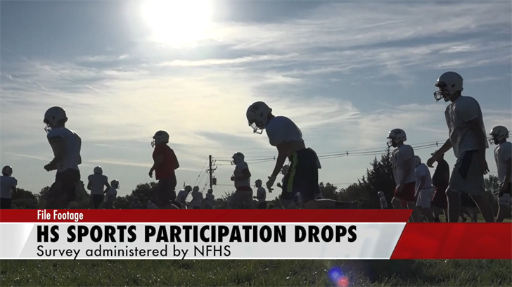High School Sports Participation Drops Nationally