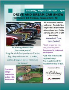 Sign Up And Cruise In The 2019 Drive And Dream Car Show!