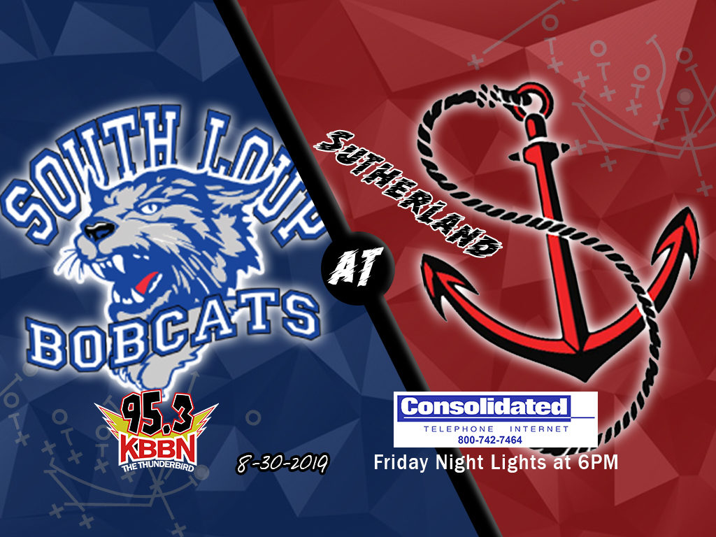 High School Football Friday – South Loup Opens at Sutherland on KBBN