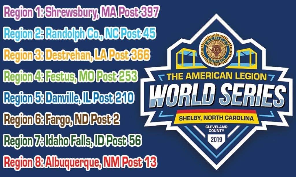 American Legion Baseball Mid-South Region Winner Crowned, World Series Begins August 15