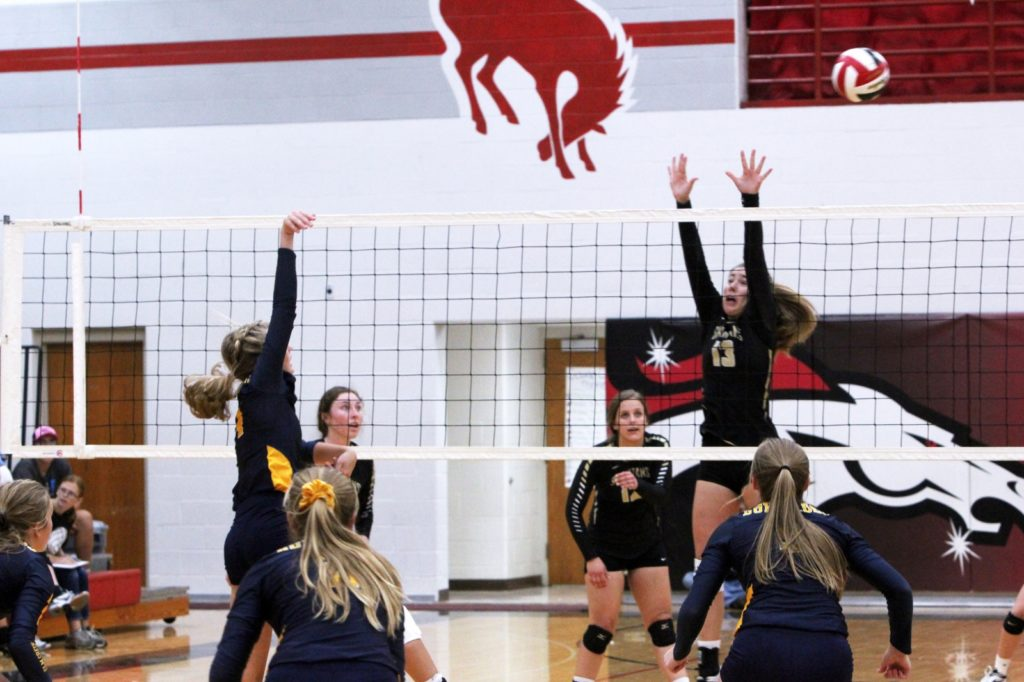 Area Volleyball 8/29 – Bow Wins Opener