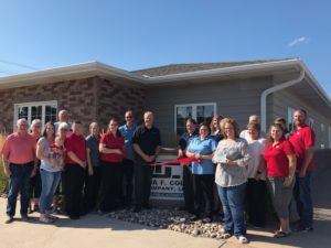 Dana F. Cole & Co. Celebrates Expansion with GROW Broken Bow Award