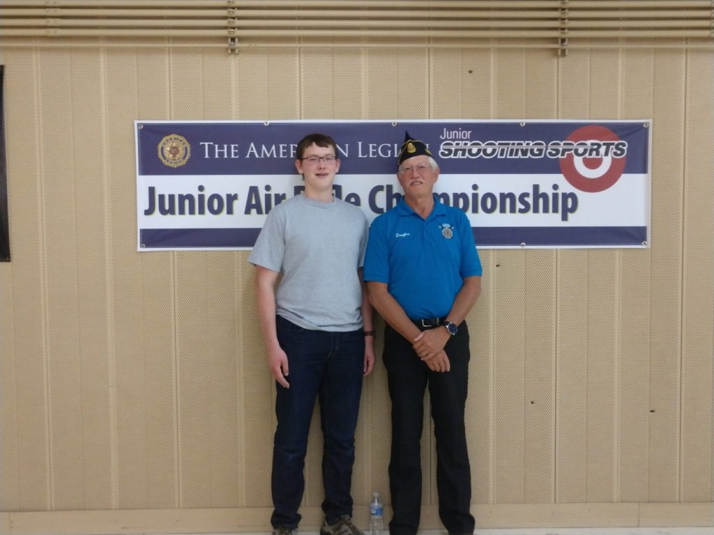 Wayne Area Native James Simpson Finishes 7th At American Legion National Junior Shooting Sports Competition