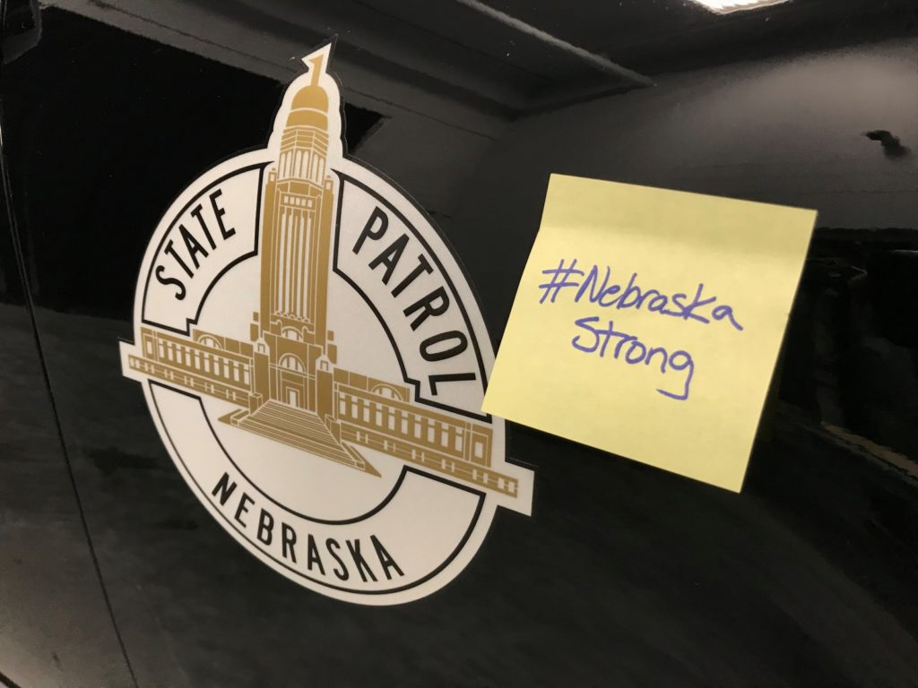 #NebraskaStrong Messages To Cover NSP Cruiser Throughout State Fair