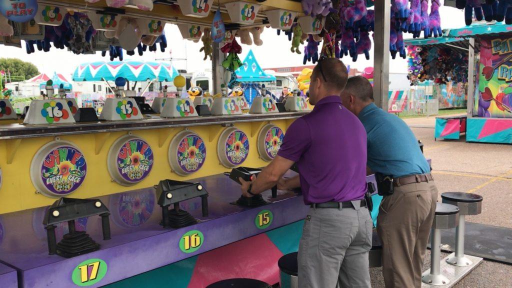 Nebraska State Patrol Has a Little Fun at State Fair
