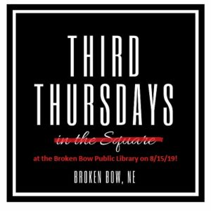 Broken Bow Third Thursday Events to Take Place at Library