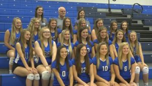 Blue Devils Land Three All-Conference, One Honorable Mention On Mid State Volleyball Team