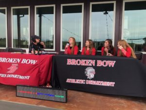 Fall Sports Preview - Broken Bow Volleyball Team
