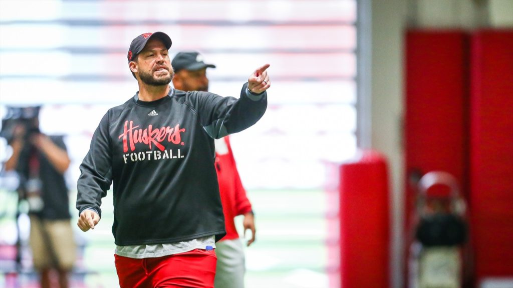 Huskers Begin Week in Full Pads