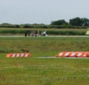 Helicopter Crash at Blair Airport