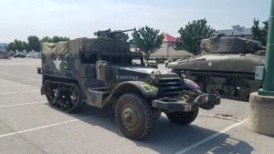 Antique Military Vehicle Convoy to Stop in Fremont