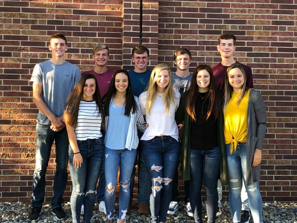Wayne Community Schools Homecoming Court Announced