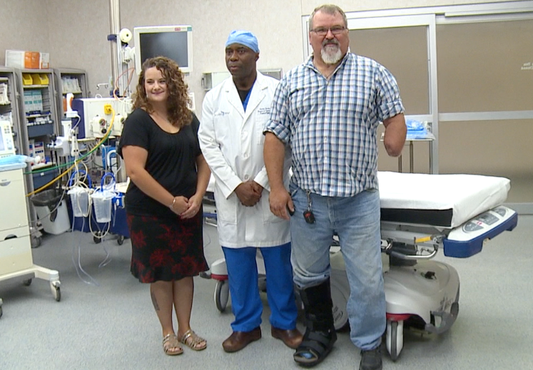 Nebraska man survives life-threatening injury, faces life as an amputee with a smile