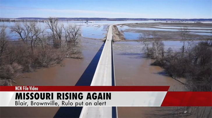 Missouri River to rise again this week