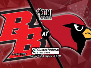 Broken Bow Returns Home to Host Chadron on KCNI