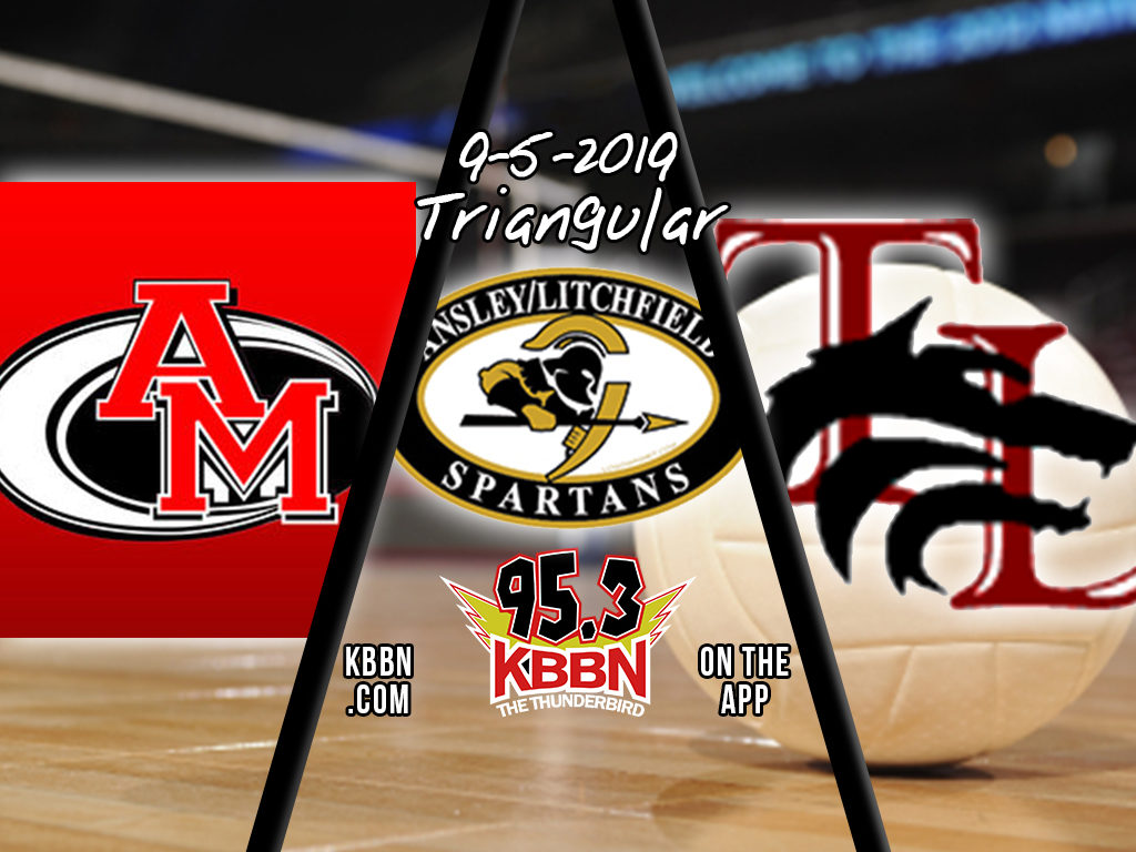 AM hosts Ansley/Litchfield and Twin Loup for Volleyball Triangular on KBBN