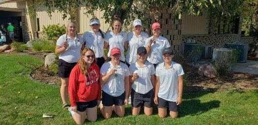 Broken Bow Girls Golf Places Third at GICC Invite