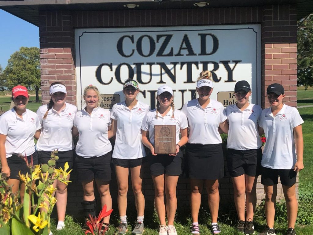 Broken Bow Girls Golf Wins Title at Cozad