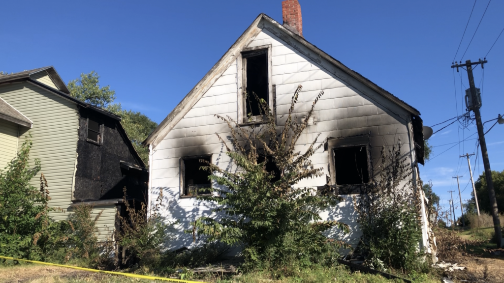 Saturday Morning Fire Destroys One Home, Damages Another