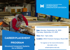 Metro Community College & Structural Components Partner for Job Readiness Program