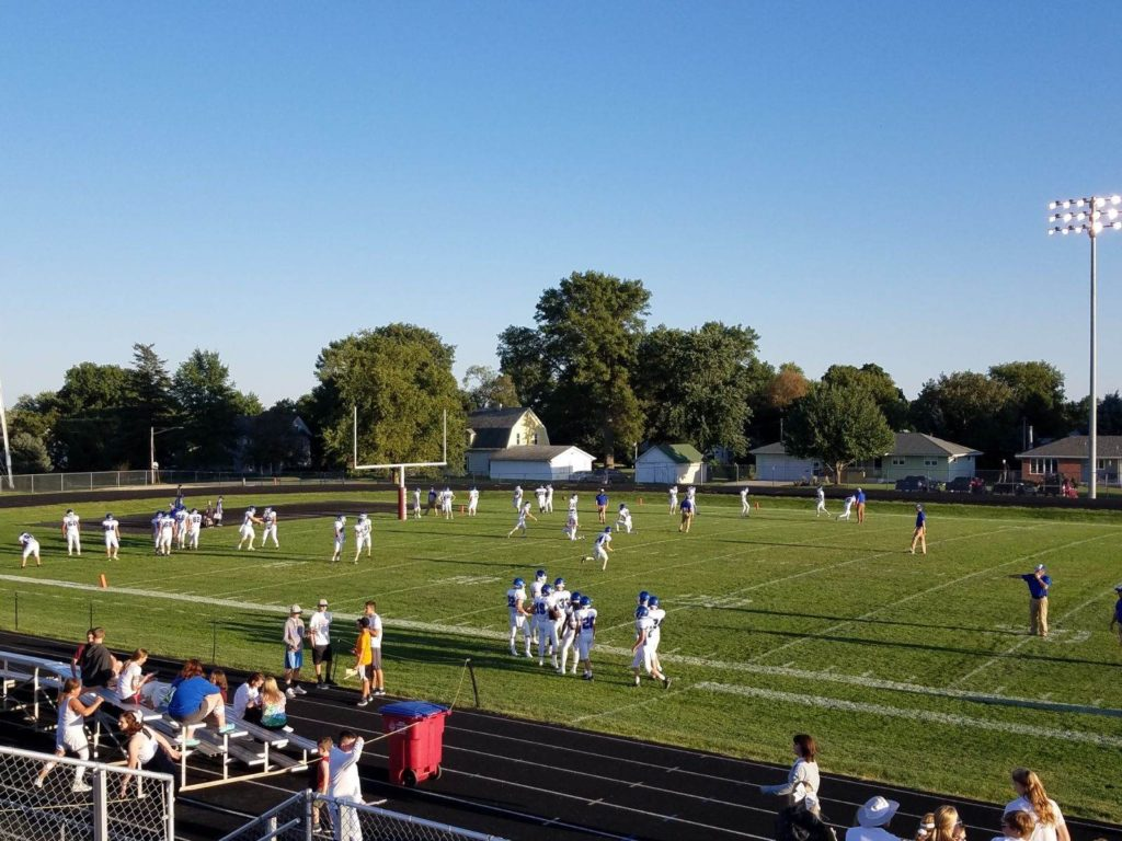 Blocked Extra Point Seals Off Road Blue Devil Victory
