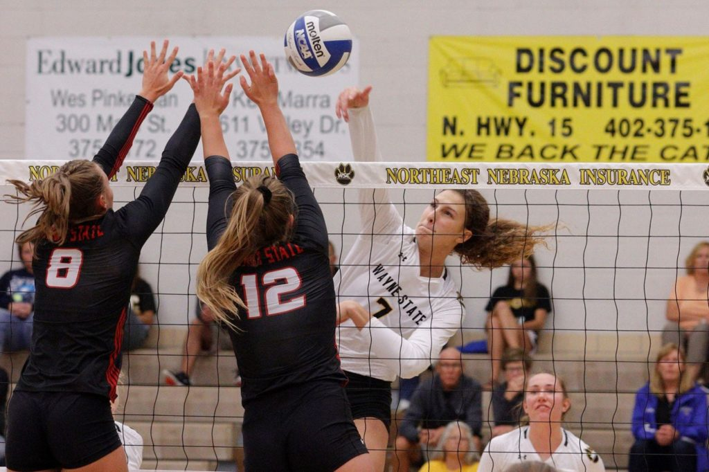 Wildcat Volleyball Prevails In Straight Sets