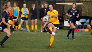 Third Overtime Match Results In Second Draw For Wildcat Women's Soccer