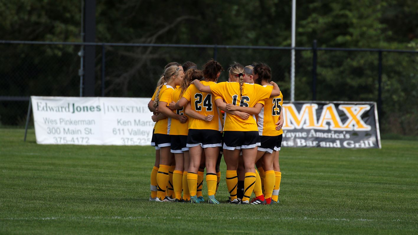 womens non conference soccer action - HD1416×797