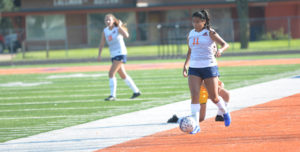No. 20 Lady Warriors Dominate Lancers for GPAC Win