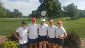 Broken Bow Girls Golf Places 5th at Hastings