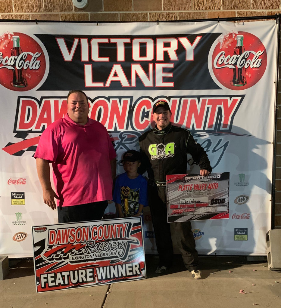 Dawson County Raceway Results – 9/15