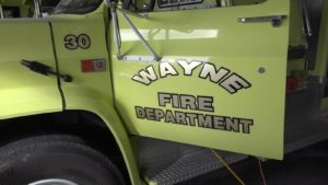 Wayne Volunteer Fire Department Hosts Friday Morning Chamber Coffee