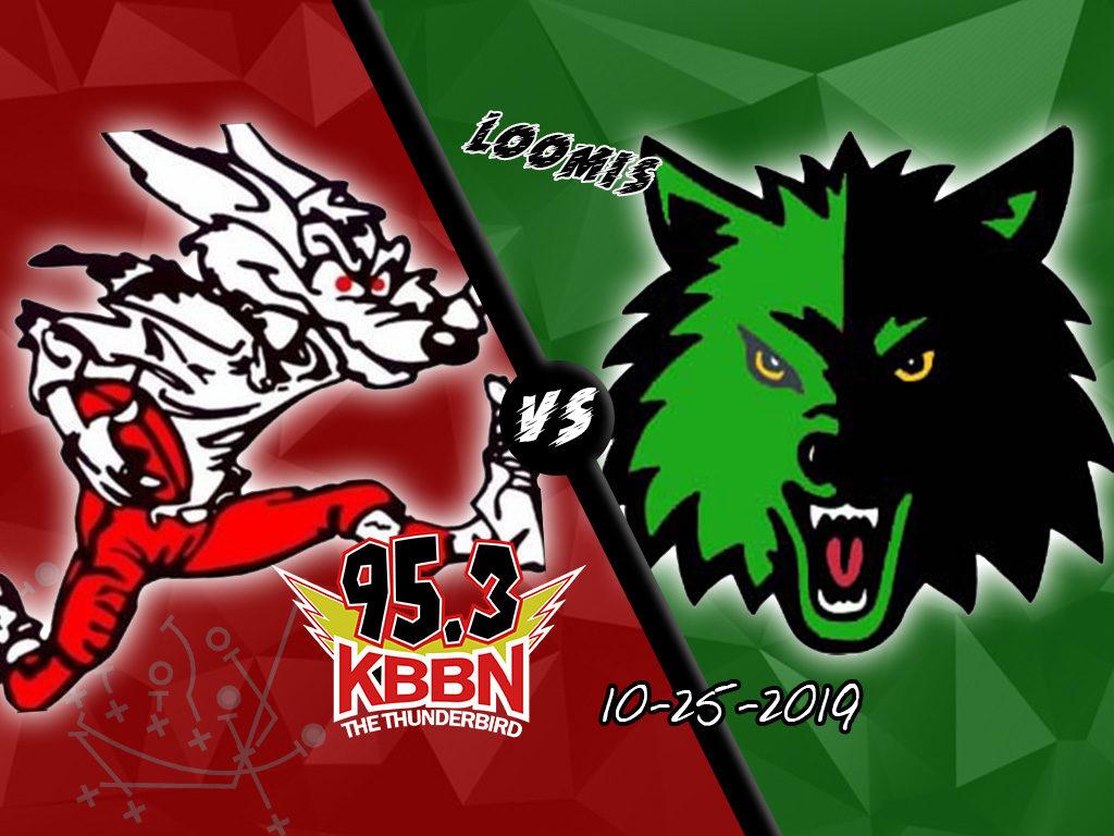 High School Football – AM vs Loomis on KBBN