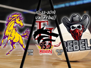 High School Volleyball Tonight on KBBN