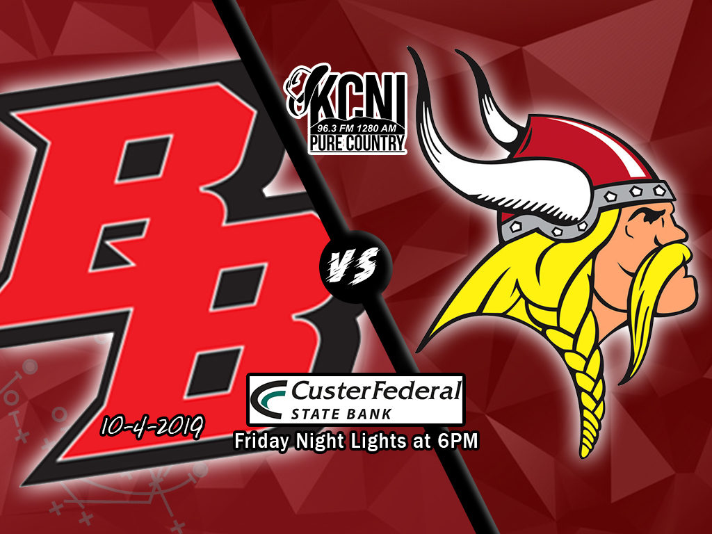 Broken Bow vs Gothenburg – Homecoming – on KCNI