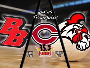 High School Volleyball - Broken Bow vs Ord / Cozad on KBBN