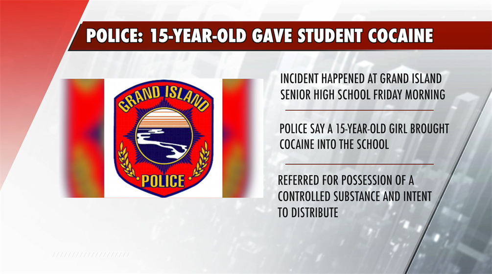 GI High School Students Gives Cocaine to other student