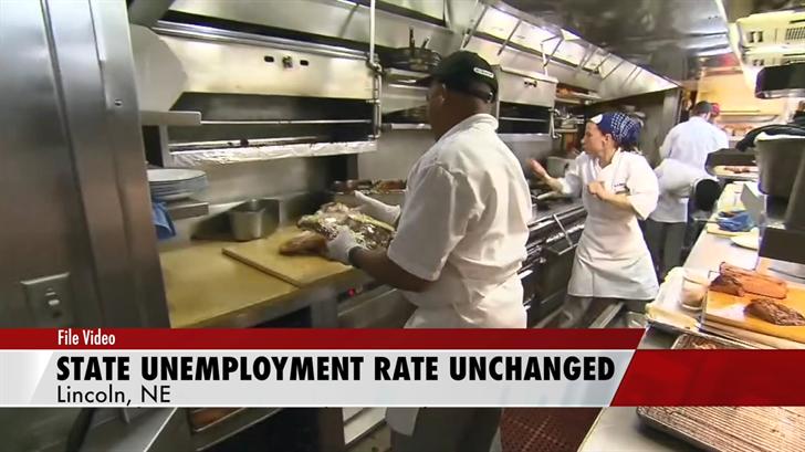 Nebraska jobless mark of 3.1% unchanged for 3rd month