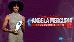 Mercurio Named NCAA Woman of the Year